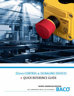 22mm Control & Signaling Quick Reference Guide